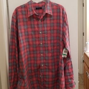 Club Room Men's Long Sleeve Button Down Shirt